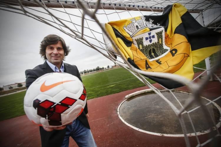 """Vídeo-árbitro será utilizado em Elvas no """"maior evento de futebol de formação"""", diz Presidente da AFP (c/som)"""