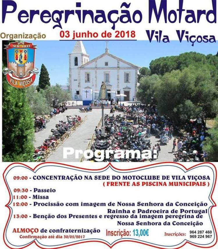 Vila Viçosa receberá mais uma Peregrinação Motard