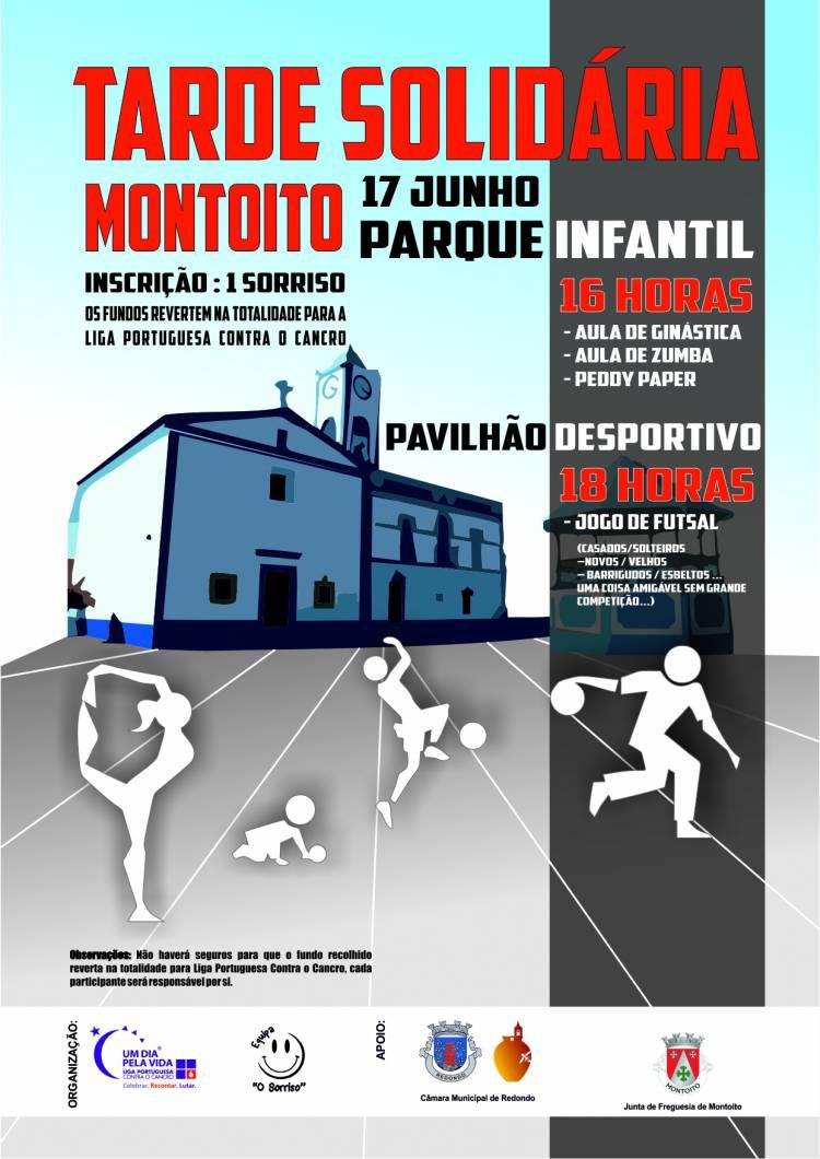 Montoito (Redondo) receberá tarde solidária a favor da Liga Portuguesa Contra o Cancro
