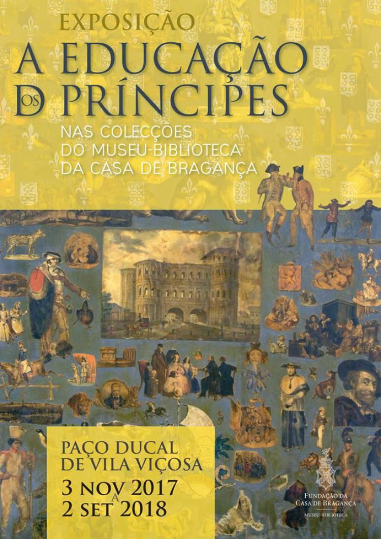 Continua patente no Palácio de Vila Viçosa exposição sobre a educação dos principes