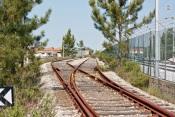 Colisão entre comboio de mercadorias e viatura ligeira provoca um morto no ramal de Vendas Novas
