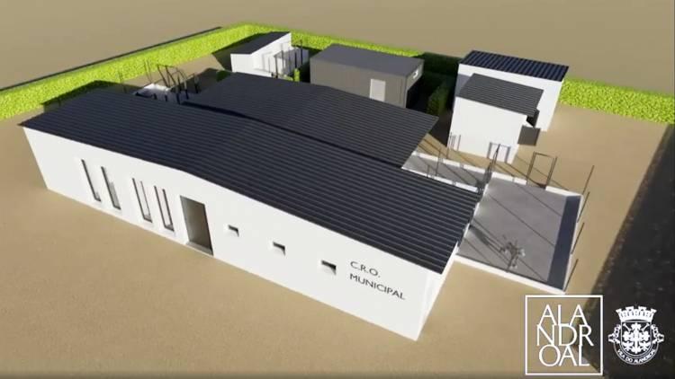 Alandroal divulga projeto arquitetónico de futuro Centro de Recolha Oficial de Animais (c/vídeo)