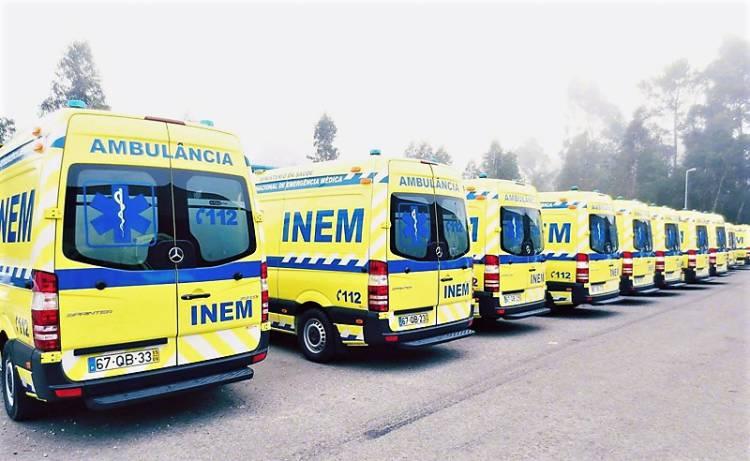 Região Alentejo terá 100% de cobertura de viaturas de emergência médica