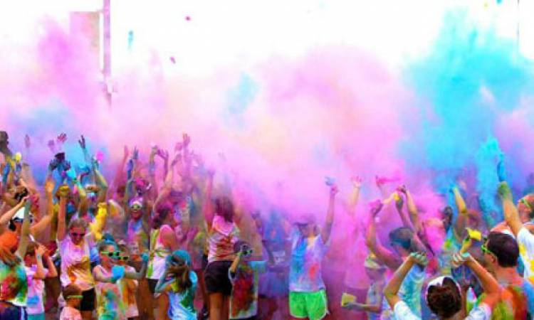 Color Run vai pintar as ruas da cidade de Borba