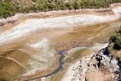 Afluente Alentejano do Tejo praticamente seco devido ás políticas hídricas espanholas