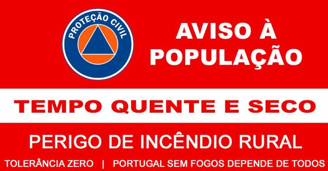 Perigo de incêndio rural no Alentejo - Rádio Campanário