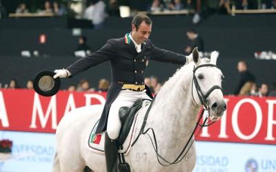 Cavaleiro de Monforte apura-se no coletivo e no individual nos Jogos Olímpicos