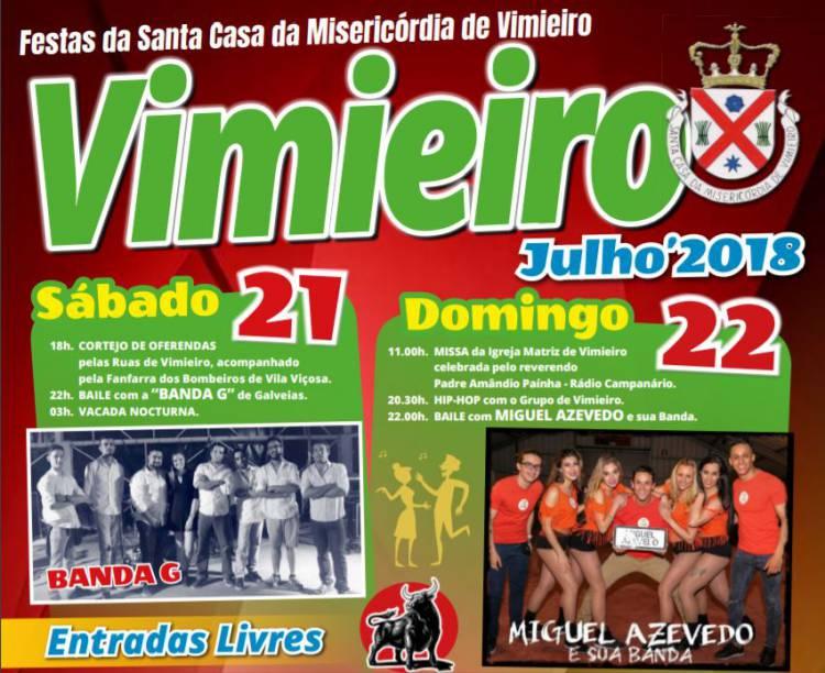 Misericórdia do Vimieiro promove festas populares
