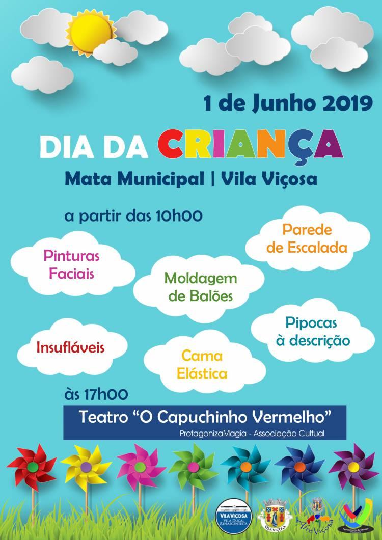 Vila Viçosa celebra Dia Mundial da Criança com muita animação