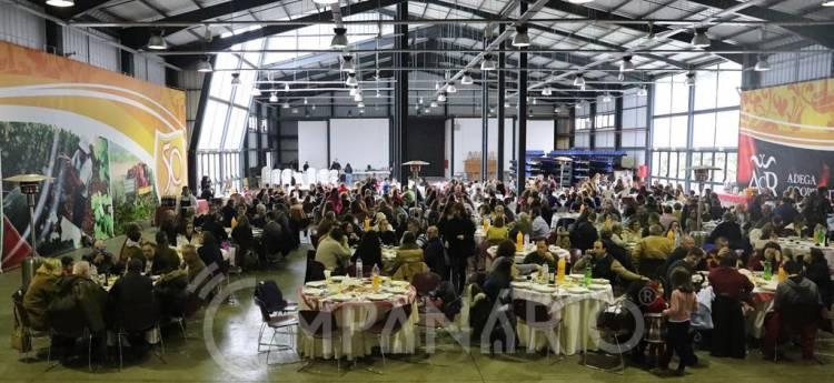 """No Almoço de Natal da Câmara de Redondo o Presidente António Recto desejou """"esperança"""" e que """"as pessoas não baixem os braços"""" (c/som e fotos)"""