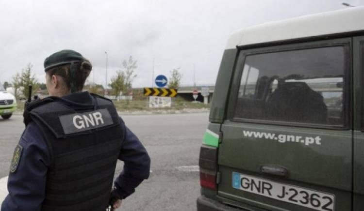 GNR registou este fim-de-semana dez crimes e nove acidentes rodoviários em todo o distrito de Évora (c/som)