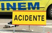 Acidente: idosa de 70 anos ferida ao ser atropelada numa passadeira
