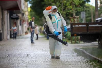 COVID-19: Município de Mourão vai desinfetar as ruas da freguesia de Granja, que tem 6 casos ativos