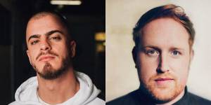 Dillaz e Gavin James no Festival do Crato
