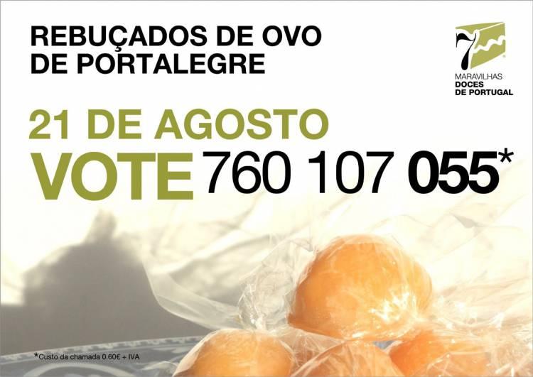 """Os Rebuçados de Ovo de Portalegre são pré-finalistas no concurso """"7 Maravilhas Doces de Portugal""""!"""