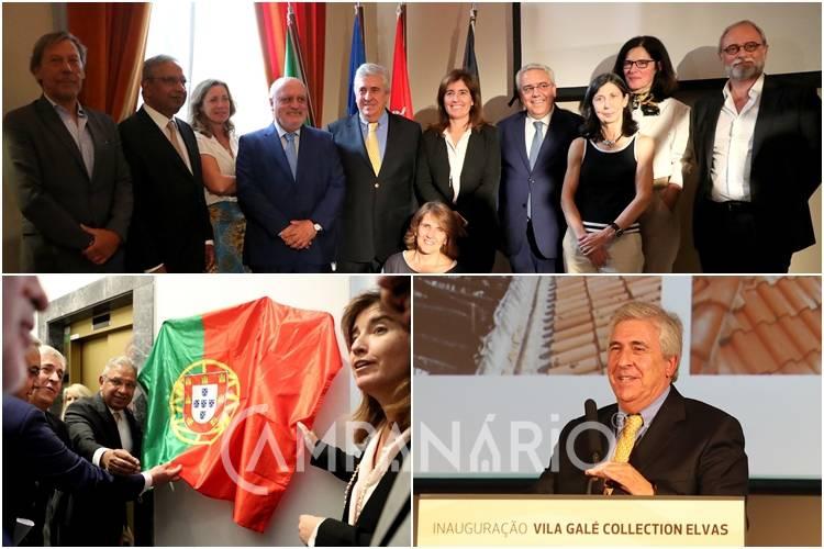 Presidente do Vila Galé aposta em trazer clientes do Brasil para o novo hotel recentemente inaugurado em Elvas. A RC mostra-lhe as fotos (c/som)