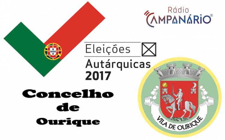 Autárquicas 2017: Os resultados eleitorais do concelho de Ourique (c/dados)