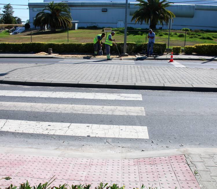 Câmara de Alcácer do Sal melhora mobilidade pedonal na Avenida José Saramago