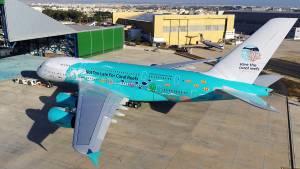 Beja recebe o maior avião comercial do mundo