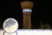 Grândola: Depósito da água ilumina-se de azul para assinalar o 75.º aniversário das Nações Unidas