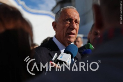 Presidente da República, Marcelo Rebelo de Sousa, deixa mensagem de solidariedade e força a todos os Reguenguenses