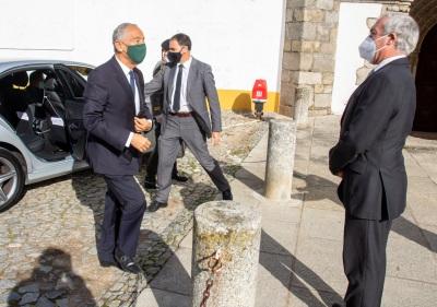 Presidente da República Visita Empresários da Restauração e Hotelaria em Évora