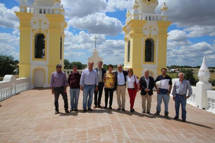 Secretária de Estado do Desenvolvimento Regional visita Santuário de N.ª Sr.ª D'Aires