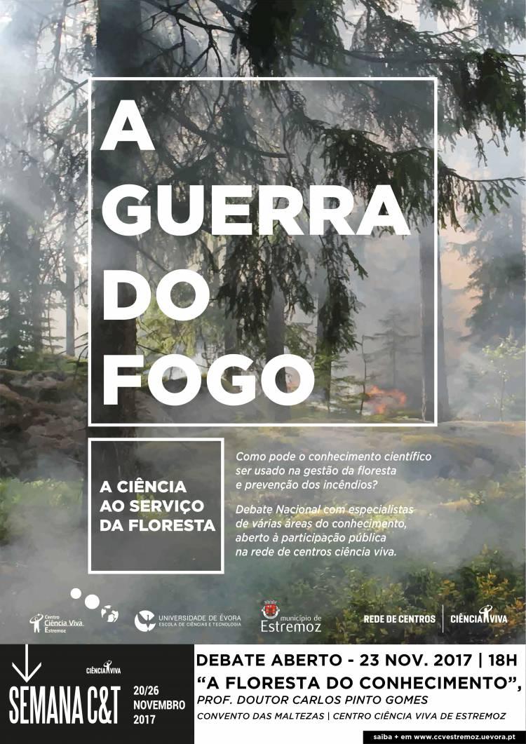 """Centro de Ciência Viva de Estremoz recebe conferência """"A Floresta do Conhecimento"""""""
