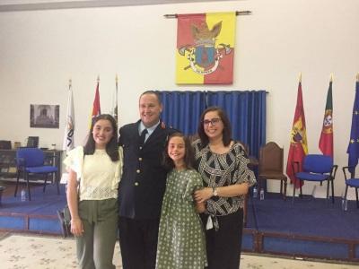 Sérgio Valente é o novo Comandante dos Bombeiros Voluntários de Redondo (c/fotos)