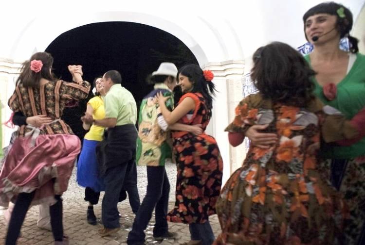 Baile dos Gordos hoje no Mosteiro de Flor da Rosa, Crato