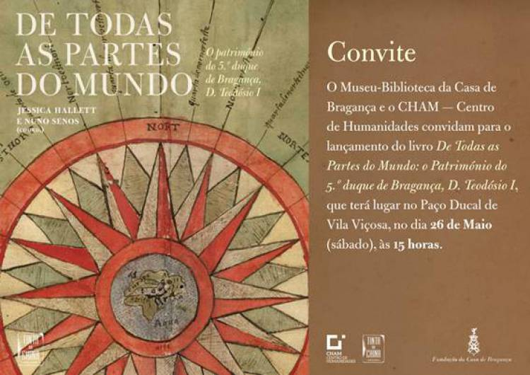 Paço Ducal de Vila Viçosa recebe lançamento de livro sobre D. Teodósio I