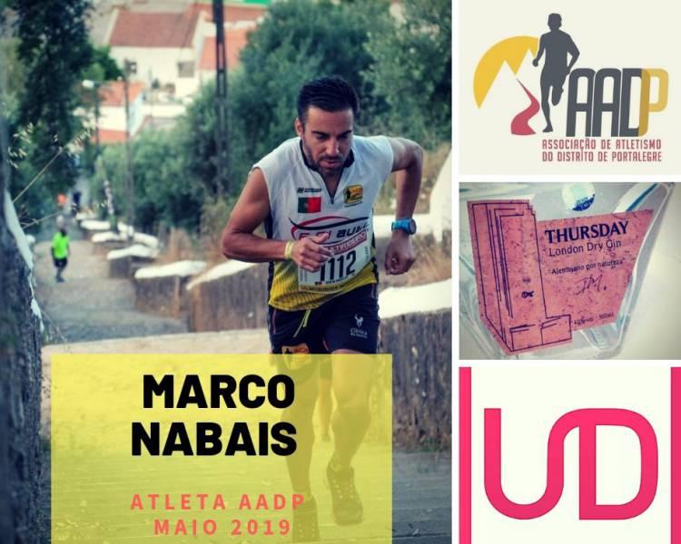 Marco Nabais é o Atleta AADP do Mês de Maio