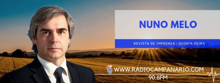 """""""O PSD perdeu a oportunidade de ser contundente, e as esquerdas foram hipócritas"""", diz Nuno Melo sobre a moção de censura (c/som)"""