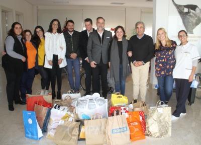 """Aurelino Ramos acerca da doação de presentes de multinacional alemã ao centro Luís da Silva, """"este é um exemplo digno e magnífico de ser replicado"""""""