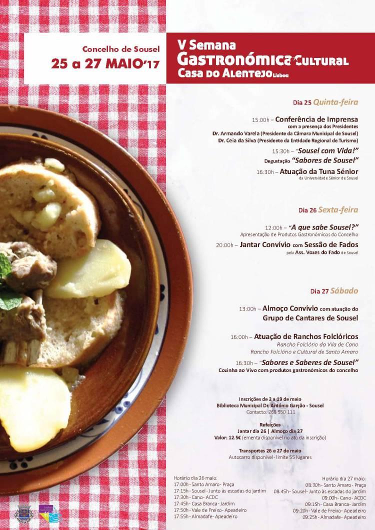 Sousel promove gastronomia e cultura do concelho em Lisboa