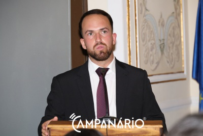 """""""Não vamos falhar àqueles que confiaram em nós"""" em Mourão, afirma João Fortes (c/som)"""