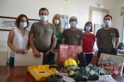 Câmara de Nisa adquire Equipamentos de Proteção Individual para Equipa de Sapadores