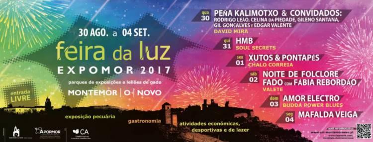 Feira da Luz/Expomor 2017 regressa a Montemor-o-Novo