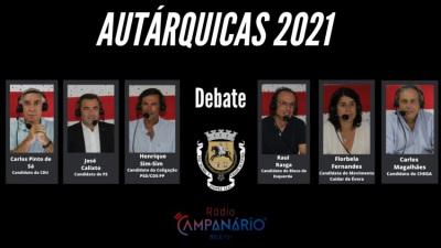 Autárquicas 2021: Em vídeo o debate dos candidatos à Câmara Municipal de Évora