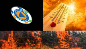 CDOS de Évora alerta para aumento do risco de incêndio nos próximos dias