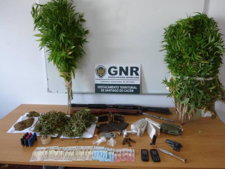GNR deteve homem procurado por rapto e sequestro no Litoral Alentejano