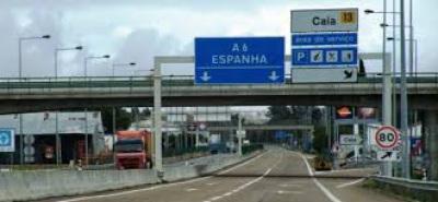 Protesto de agricultores espanhóis corta A5 perto da fronteira do Caia