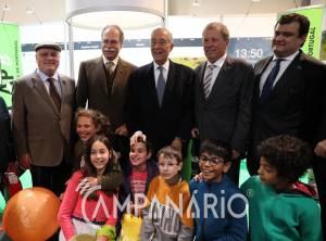 Inaugurada 36ª Ovibeja. A RC esteve presente na sessão onde o Prof. Marcelo Rebelo de Sousa destacou a internacionalização do certame (c/som e fotos)