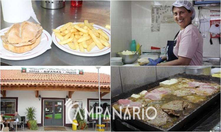 Restaurante 'Planícies' em Vendas Novas abre as portas à Campanário e revela segredo das famosas bifanas (c/som)