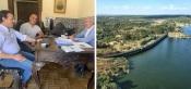 Pres. da Câmara de C. Vide reuniu com deputados do círculo de Portalegre, sobre a gestão da Barragem de Póvoa e Meadas