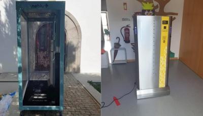 Município de Alandroal instala pórticos de desinfeção nas escolas do concelho