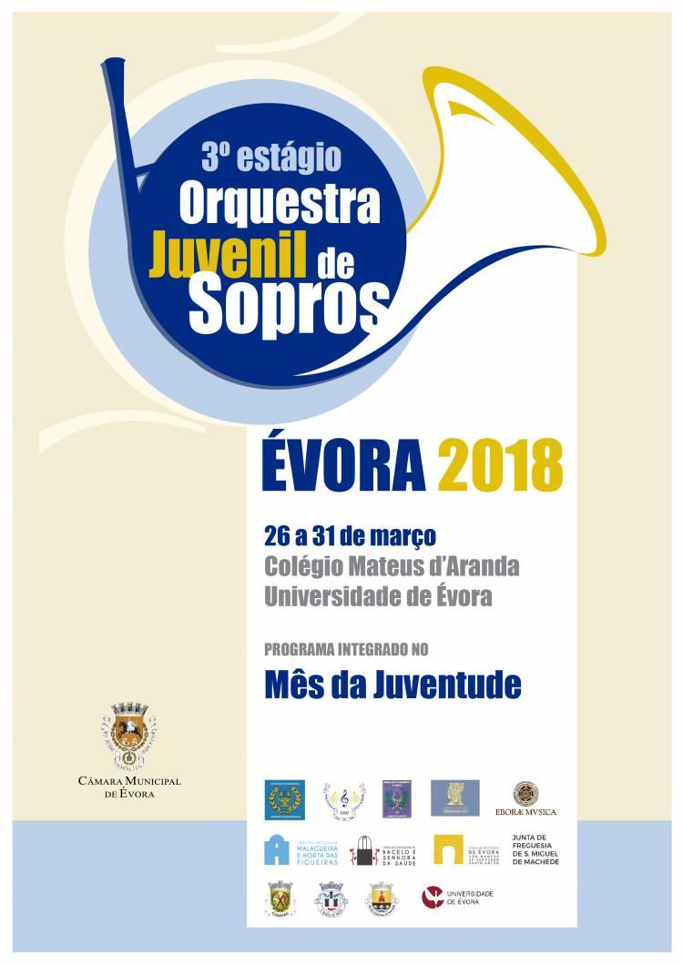 Município de Évora promove Estágio da Orquestra Juvenil de Sopros