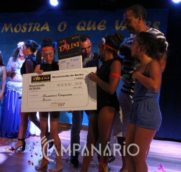 Got Talent Mostra o Que Vales encantou noite de Borba, na sua primeira edição (c/fotos)