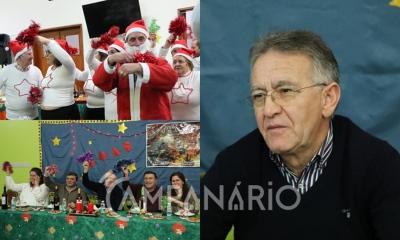 """Santa Casa de Vila Viçosa assinalou o Natal no Centro de Dia de Bencatel """"celebrando a partilha, amor e a fraternidade"""", diz Provedor (c/som e fotos)"""