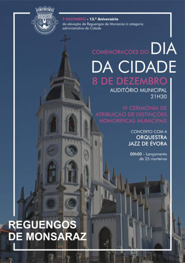 Reguengos de Monsaraz comemora mais um aniversário da elevação a cidade